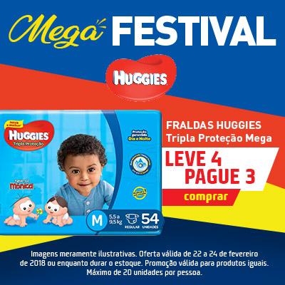HUGGIES TRIPLA MEGA