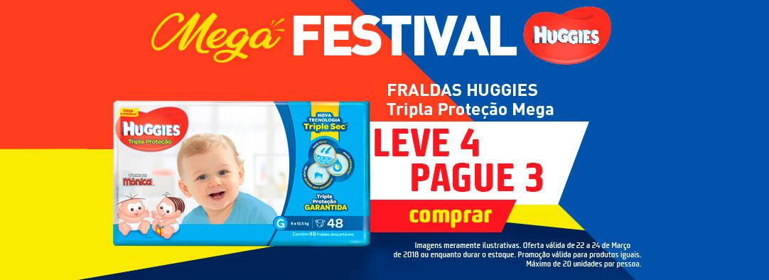 FRALDA HUGGIES