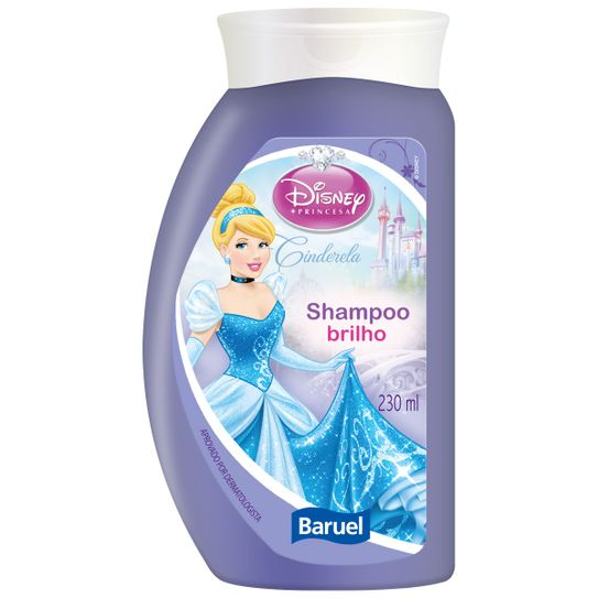 shampoo-disney-princesa-cinderela-brilho-230ml-principal
