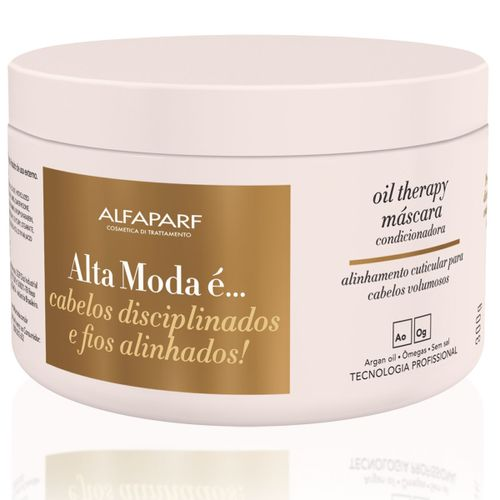Máscara De Tratamento Alta Moda Oil Therapy 300ml