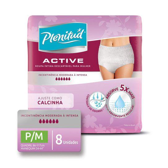 roupa-intima-descartavel-plenitud-active-mulher-tamanho-p-m-com-8-unidades-principal