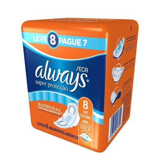 absorvente-always-basico-seca-com-abas-leve-8-pague-7-unidades-principal