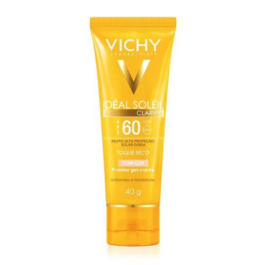 ideal-soleil-vichy-clarify-fps60-toque-seco-com-cor-gel-creme-40g-principal