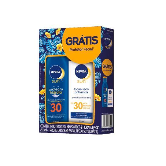 protetor-solar-nivea-sun-protect-hidrata-fps-30-200ml-gratis-protetor-facial-nivea-sun-fps30-50ml-principal