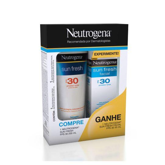 protetor-solar-neutrogena-sun-fresh-fps30-200ml-gratis-protetor-solar-neutrogena-sun-fresh-facial-fps30-50ml-principal