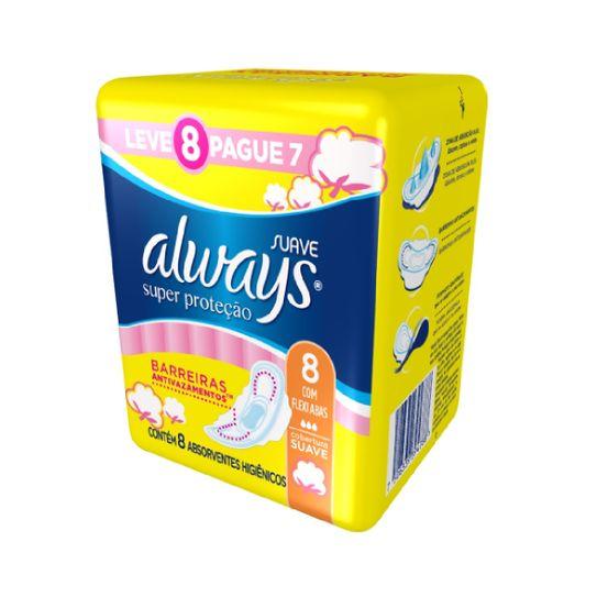 absorvente-always-basico-suave-com-abas-leve-8-pague-7-principal