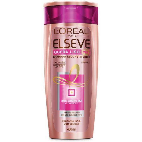Shampoo Elseve Quera-Liso 230° 400ml
