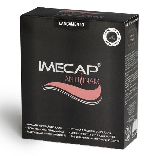 Imecap Antissinais Creme 35g + Imecap Antissinais Com 45 Cápsulas