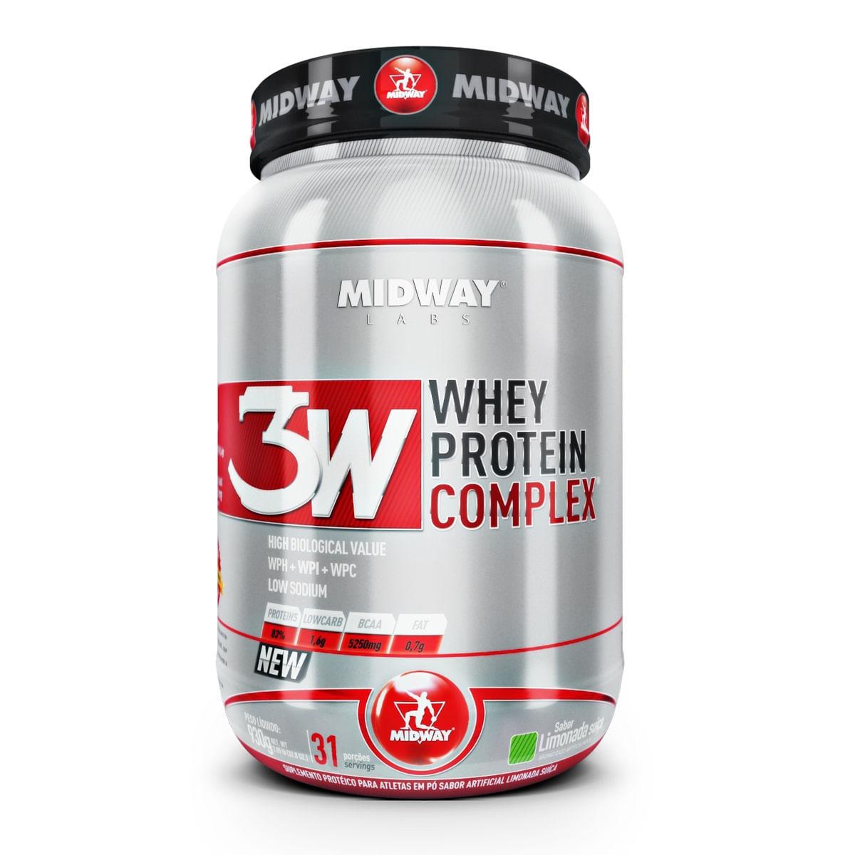 bfef8a36a Whey Protein Iso Pure Midway Limonada Suíça 930g - Farmacias Pague Menos