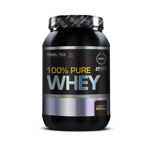 100% Pure Whey Probiotica Chocolate 900g Novo