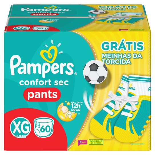fralda-pampers-pants-confort-sec-tamanho-xg-com-60-unidades-gratis-par-meia-copa-do-mundo-principal