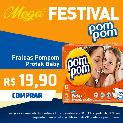 FRALDA POMPOM