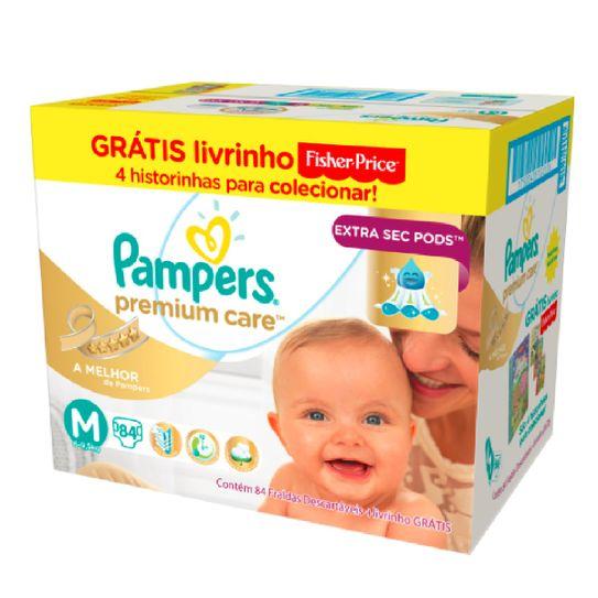 fralda-pampers-premium-care-tamanho-m-com-84-unidades-gratis-livrinho-fisher-price-principal