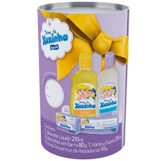 sabonete-liquido-turma-da-xuxinha-sem-corante-210mlmaisshampoo-turma-da-xuxinha-suave-210ml-mais-creme-de-assadura-turma-da-xuxinha-45g-mais-sabonete--principal