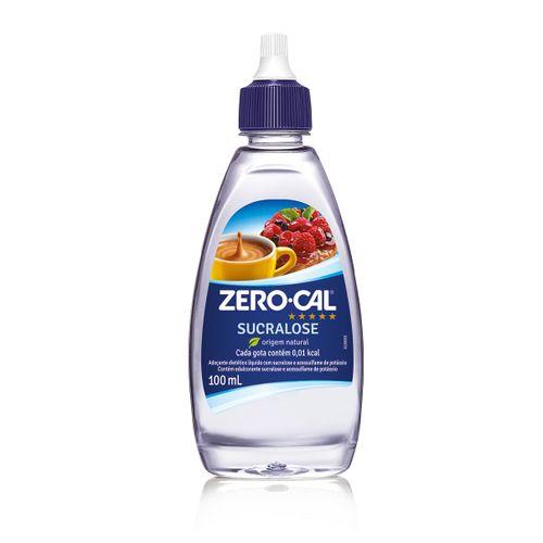 Adoçante Zero Cal Sucralose 100ml