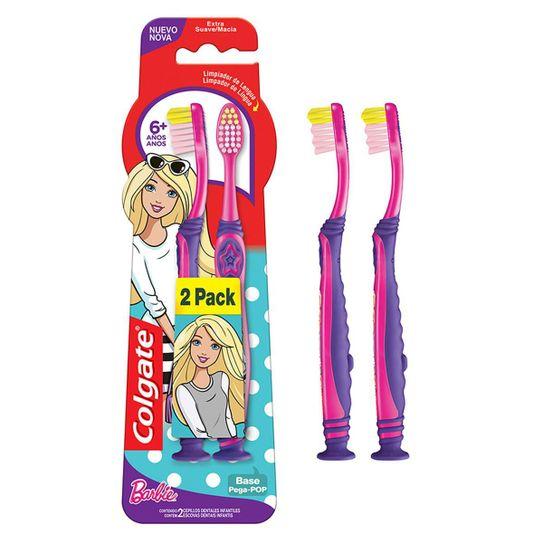 escova-dental-infantil-colgate-smiles-barbie-homem-aranha-6mais-anos-extra-macia-2un-promo-c-desconto-principal