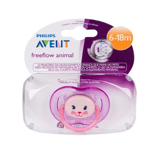 chupeta-avent-freeflow-gato-0-18-meses-meninas-principal
