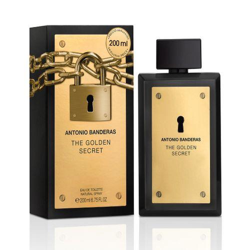 Perfume Antonio Bandeiras The Golden Scret Masculino 200ml
