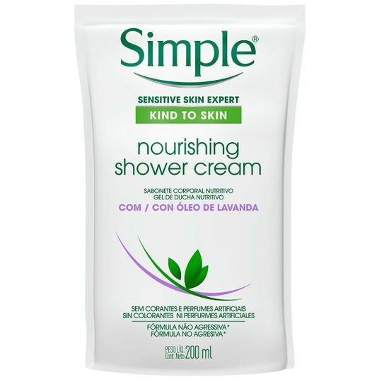 sabonete-liquido-corporal-simple-nourishing-shower-cream-com-oleo-de-lavanda-refil-200ml-principal