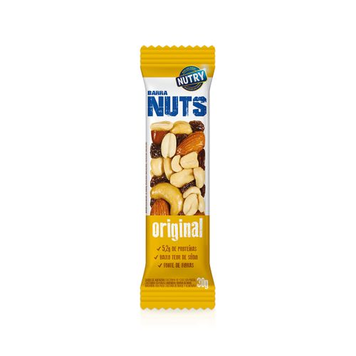 Cereal Barra Nutry Nuts Original 30g