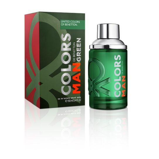 b15341499 Perfume Benetton Colors Green Masculino 60ml - Farmacias Pague Menos