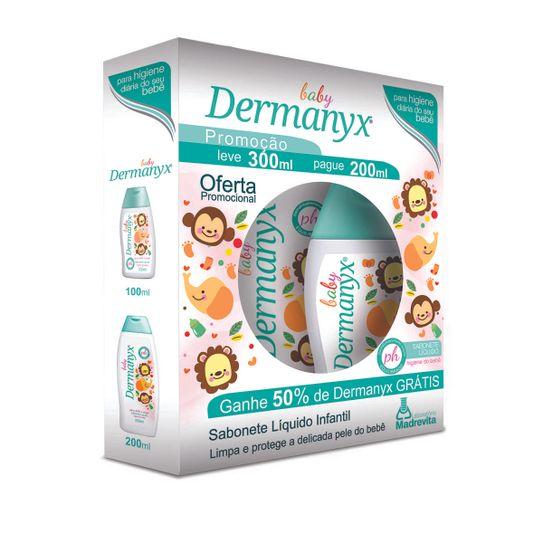 kit-dermanyx-baby-sabonete-liquido-infantil-leve-300ml-pague-200ml-principal