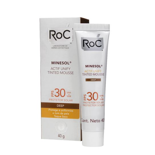 roc-minesol-protetor-solar-actif-unify-tinted-mousse-deep-fps30-40g-principal