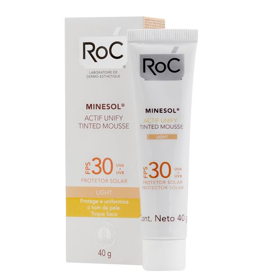 roc-minesol-protetor-solar-actif-unify-tinted-mousse-light-fps30-40g-principal