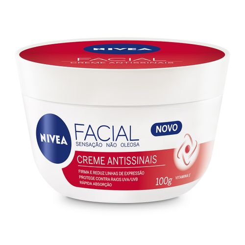 Creme Facial Nivea Antissinais Vitamina E 100g