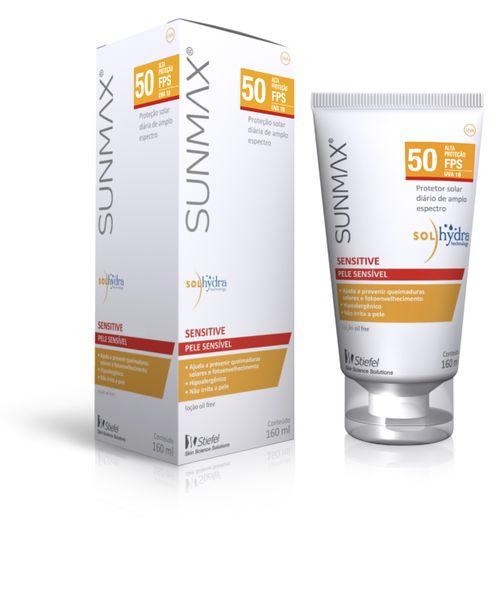Sunmax Sensitive Fps50 Family 160ml