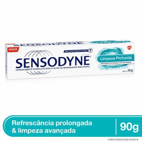 Creme Dental Sensodyne Limpeza Profunda 90g