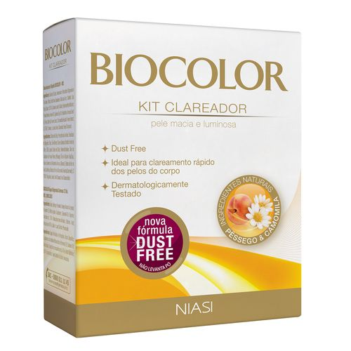 Kit Clareador Biocolor Pêssego Camomila