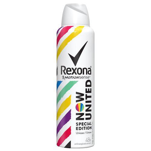 Desodorante Rexona Now United Aerosol 90g