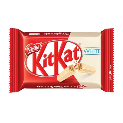 Chocolate Kitkat 4 Fingers White 41,5g