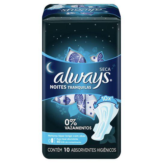 absorvente-always-noites-tranquilas-seca-com-abas-hiper-longo-10-unidades-principal