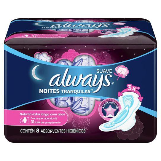absorvente-always-noites-tranquilas-suave-com-abas-extra-longo-8-unidades-principal