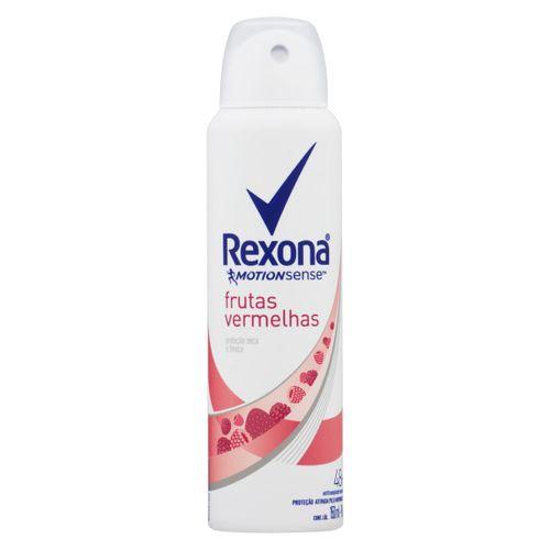 Desodorante Rexona Motionsense Frutas Vermelhas 48h Aerossol 90g