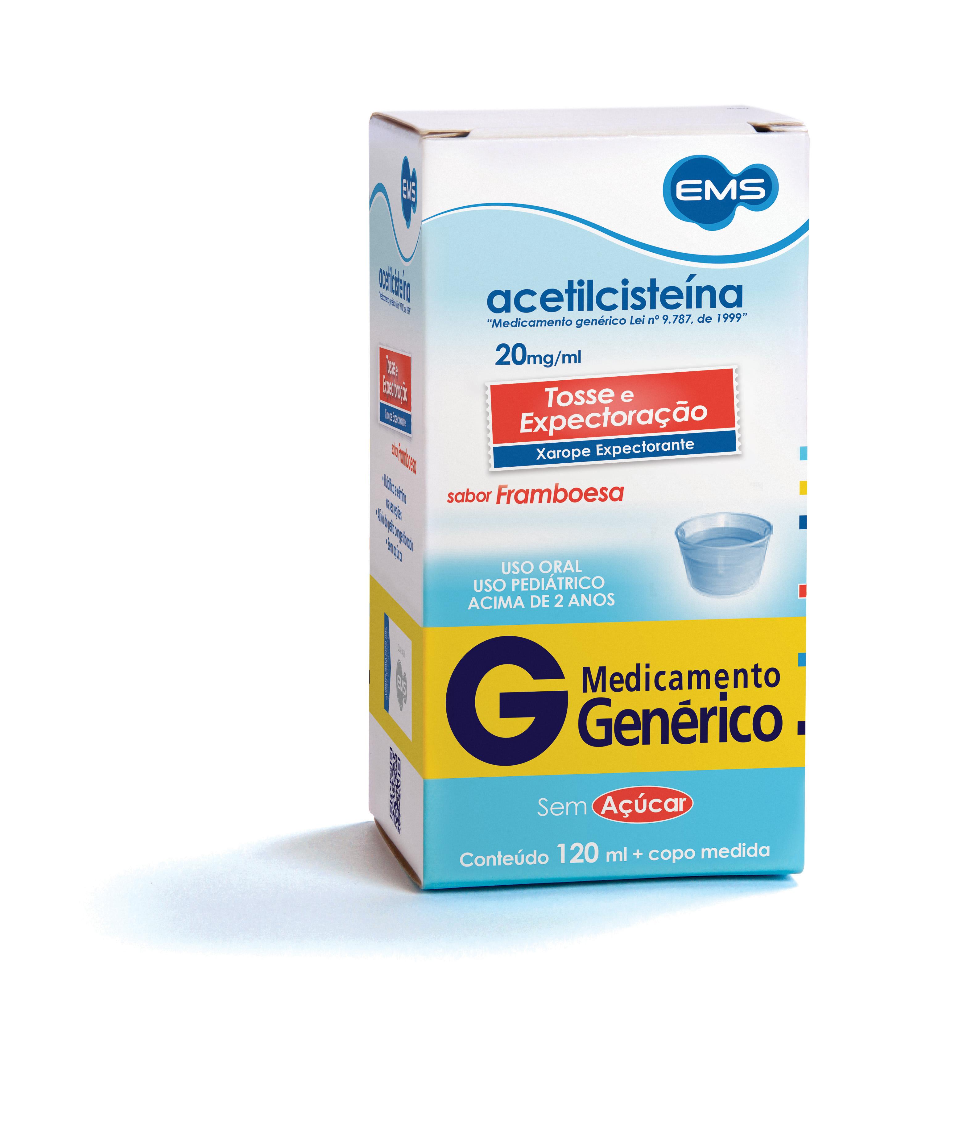 acetilcisteina xarope 20 mg