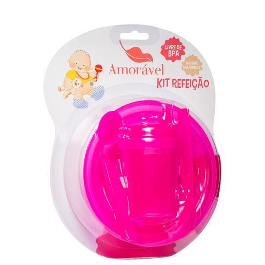 kit-infantil-amoravel-baby-rosa-com-prato-colher-e-caneca-principal