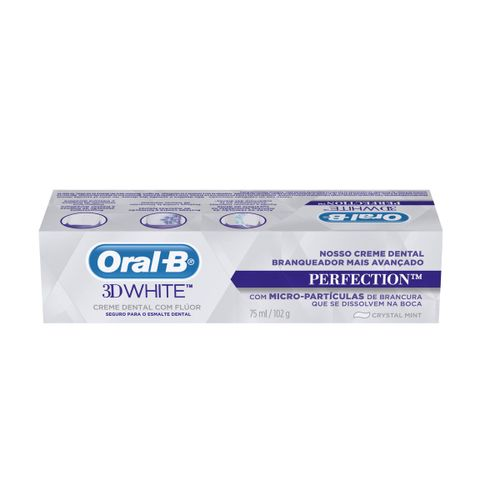 Creme Dental Oral-B 3d White Perfection - 75ml