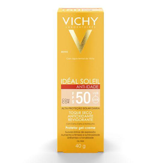 ideal-soleil-anti-idade-vichy-fps50-toque-seco-com-cor-gel-creme-40g-principal