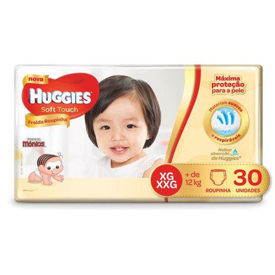 1d42348e2c10f9615e7eeb1e0661b3e3_fralda-huggies-soft-touch-roupinha-mega-tamanho-xg-com-30-unidades_lett_1