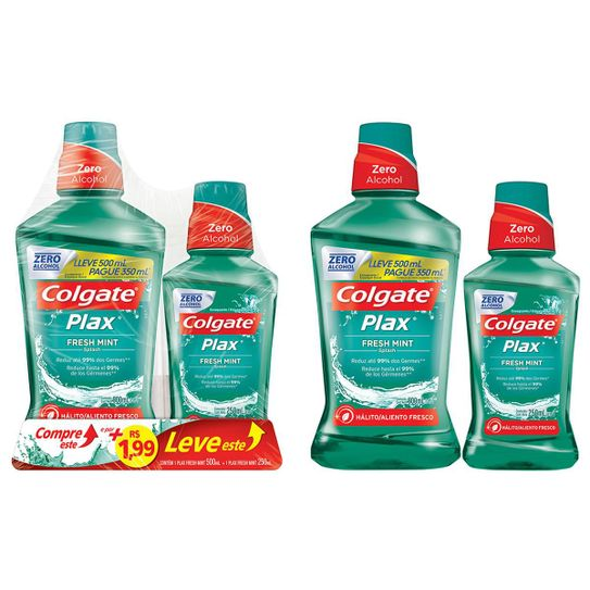 enxaguante-bucal-colgate-plax-fresh-mint-500ml-promo-mais-rs1-99-leve-1-enxaguante-250ml-principal