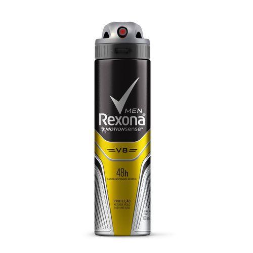 Desodorante Antitranspirante Rexona  V8/Amarelo 150ml