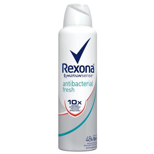 Desodorante Antitranspirante Rexona Feminino Aerosol Antibacteriano Fresh 150ml