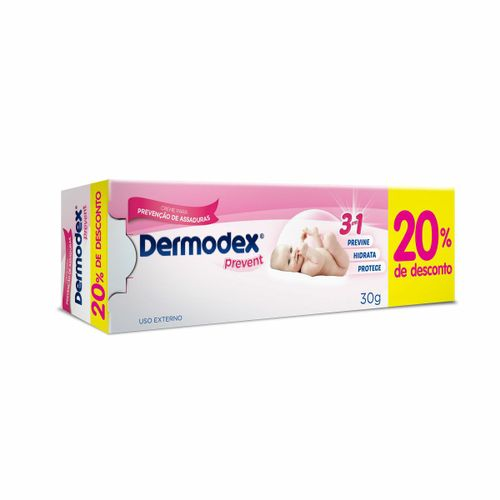 Dermodex Prevent Pomada 30g Com 20% De Desconto