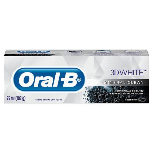 Creme Dental Oral B 3d White Mineral Clean 102g