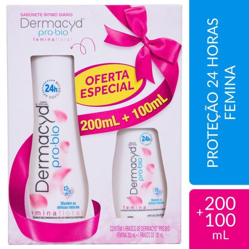 Dermacyd Fem 24h 200ml+100ml Kit-Portina
