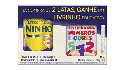Leite Ninho Nutrigold Com 2 Unidades Gratis Livro