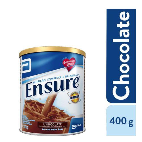 Suplemento Adulto Ensure Pó Sabor Chocolate 400g